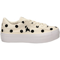 Schuhe Damen Sneaker Low All Star ONE STAR PLATFORM OX egbla-bianco-nero