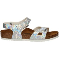 Schuhe Mädchen Sandalen / Sandaletten Birkenstock 1008095 SILVER