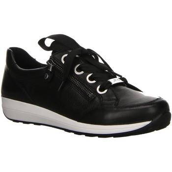 Schuhe Damen Sneaker Low Ara Schnuerschuhe Osaka Highsoft Sneaker 1234587-01-Osaka-Highsoft schwarz