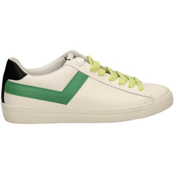 Schuhe Herren Sneaker Low Pony TOP STAR OX a6-bianco-verde