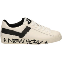 Schuhe Herren Sneaker Low Pony TOP STAR OX f1-bianco-nero