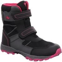 Schuhe Mädchen Schneestiefel Brütting Winterstiefel Cambridge V 720309-7020 schwarz