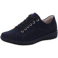 Schuhe Damen Sneaker Low Hartjes Schnuerschuhe 86462 86462/47,00 blau