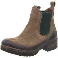 Schuhe Damen Boots Lazamani Stiefeletten 68.002/37 beige