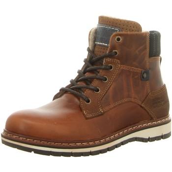 Schuhe Herren Boots Diverse 877-K5-5858A-2499 braun