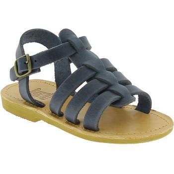 Schuhe Jungen Sandalen / Sandaletten Attica Sandals PERSEPHONE NUBUCK BLUE blu
