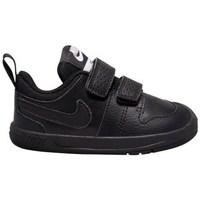 Schuhe Kinder Sneaker Low Nike Pico 5 Schwarz