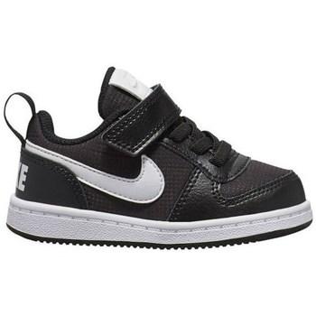 Schuhe Kinder Sneaker Low Nike Court Borough Low PE Schwarz