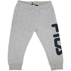 Kleidung Jungen Jogginghosen Fila - Pantalone grigio 687197-B13 GRIGIO
