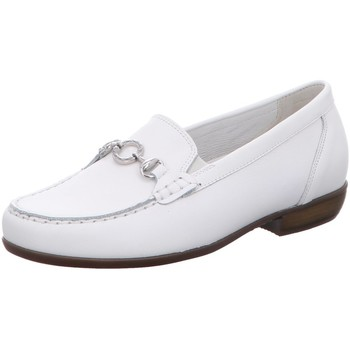 Schuhe Damen Slipper Waldläufer Slipper MEMPHIS 437505-186/150 150 weiß