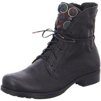Schuhe Damen Boots Think Stiefeletten DENK! 5-85013-09 schwarz