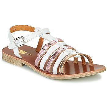 Schuhe Mädchen Sandalen / Sandaletten GBB BANGKOK Weiss