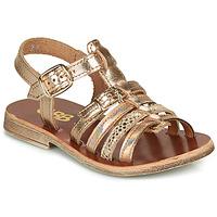Schuhe Mädchen Sandalen / Sandaletten GBB BANGKOK Rose / Gold