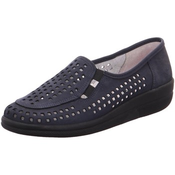 Schuhe Damen Slip on Aco Slipper 74-994 Buzios DL 74-994 BUZIOS142 blau