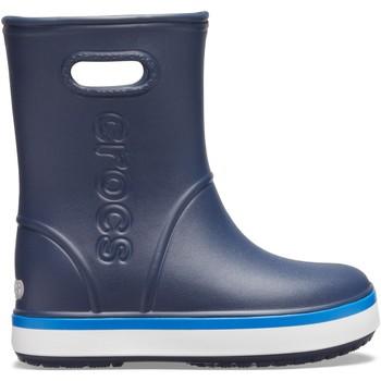 Schuhe Kinder Gummistiefel Crocs™ Crocs™ Crocband Rain Boot Kid's Navy/Bright Cobalt