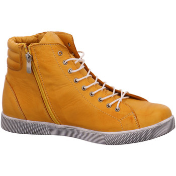 Schuhe Damen Boots Andrea Conti Stiefeletten 0347843 116 ocker gelb