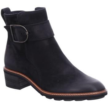 Schuhe Damen Boots Paul Green Stiefeletten 9576 9576-025 blau