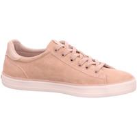 Schuhe Damen Sneaker Low Mustang 1267301-555 beige