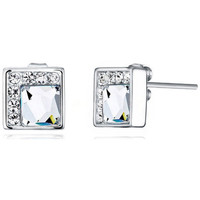 Uhren & Schmuck Damen Ohrringe Blue Pearls CRY E353 J Multicolor