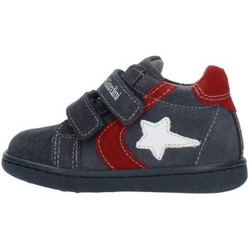 Schuhe Kinder Sneaker High Nero Giardini A919000M blau