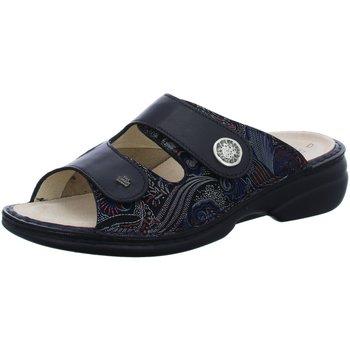 Schuhe Damen Pantoffel Finn Comfort Pantoletten Zeno Zeno 902062 schwarz