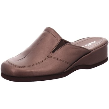 Schuhe Damen Pantoletten / Clogs Rohde Pantoletten Mandal 6142-77 gold