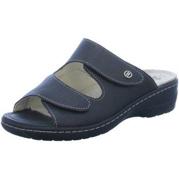 Schuhe Damen Pantoffel Hickersberger Pantoletten Milano Hallux Pantolette Weite 2169-9100 schwarz