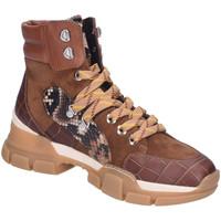 Schuhe Damen Boots Maripé Stiefeletten 29381-ROVERE braun