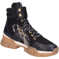 Schuhe Damen Boots Maripé Stiefeletten 29381-NERO schwarz