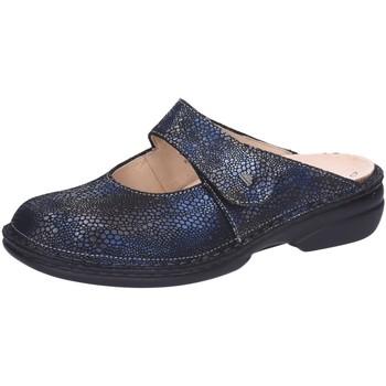 Schuhe Damen Pantoletten / Clogs Finn Comfort Pantoletten 02552-653372 blau