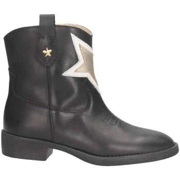 Schuhe Mädchen Low Boots Florens F850371V Schwarz / Gold