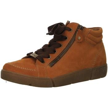 Schuhe Damen Boots Ara Stiefeletten Rom HS 12-14435-09 gelb