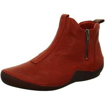 Schuhe Damen Boots Think Stiefeletten 5-85067-74 rot
