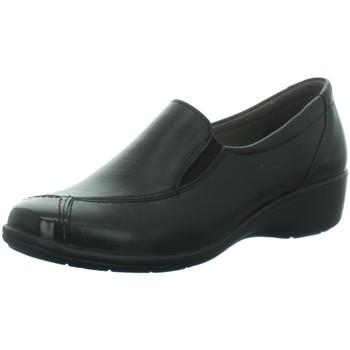 Schuhe Damen Slipper Longo Slipper black 1035706 schwarz