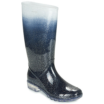 Schuhe Damen Klassische Stiefel André SIDONIE Blau