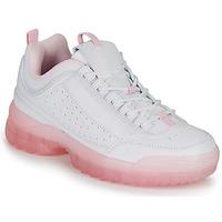 Schuhe Damen Sneaker Low André BRILLANTE Rose