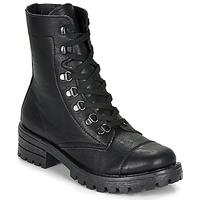 Schuhe Damen Boots André NIVA Schwarz
