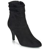 Schuhe Damen Low Boots André LINE Schwarz