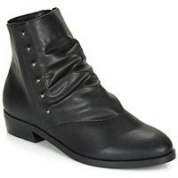 Schuhe Damen Boots André ELIPSE Schwarz