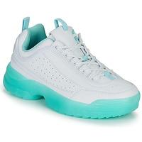 Schuhe Damen Sneaker Low André BRILLANTE Blau