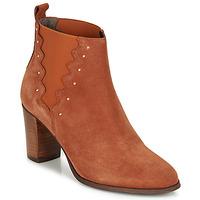 Schuhe Damen Low Boots André NORINE Orange