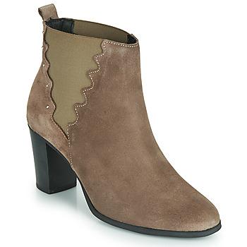 Schuhe Damen Low Boots André NORINE Maulwurf