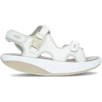 Schuhe Damen Sandalen / Sandaletten Mbt Sandalen  KISUMU 3S WHITE