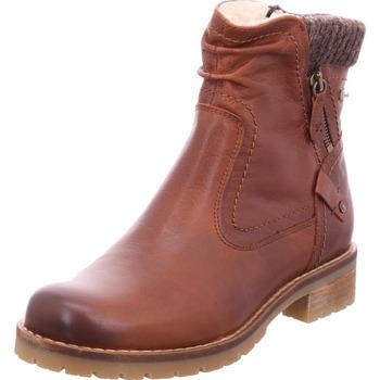 Schuhe Damen Boots Jana Woms Boots COGNAC