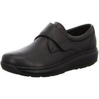 Schuhe Herren Slipper Joya Slipper Edward Black 059BIZ schwarz