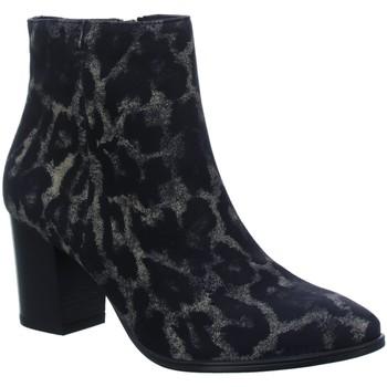 Schuhe Damen Low Boots Paul Green Stiefeletten 9623 9623-035 schwarz