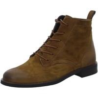 Schuhe Damen Boots Paul Green Stiefeletten 9661-007 braun