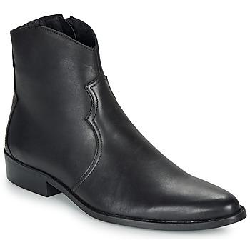 Schuhe Herren Boots André WESTERN Schwarz