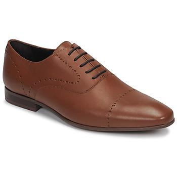 Schuhe Herren Richelieu André CURTIS Cognac