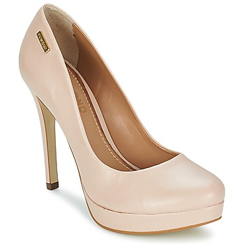 Schuhe Damen Pumps Dumond VEGETAL b. Beige